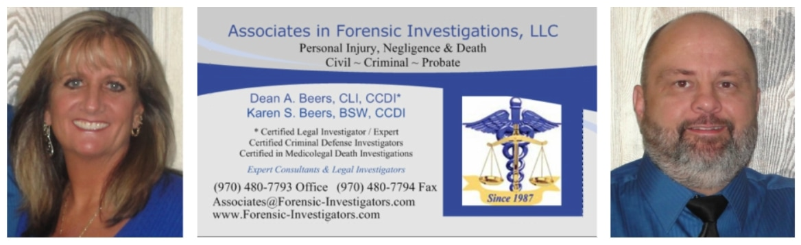 AFI-LLC Monthly Newsletter - Associates in Forensic Investigations, LLC